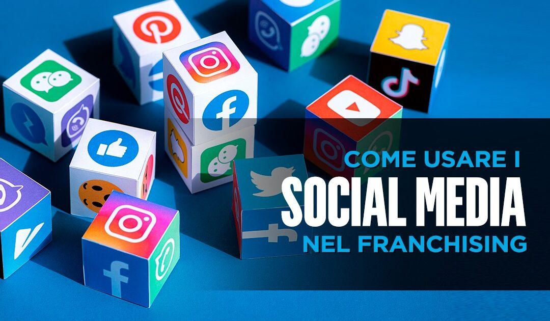 social media per franchising